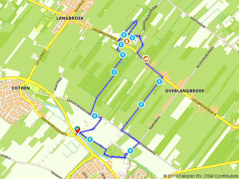 Buitenplaatsen en kastelen: Walenburg, Sandeburg en Groenestein