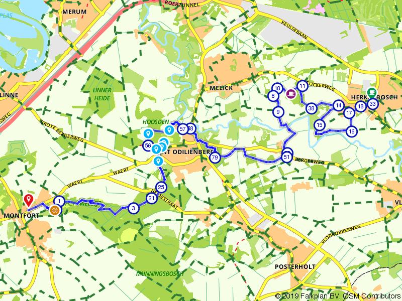 Maas-Niederrheinpad etappe 16