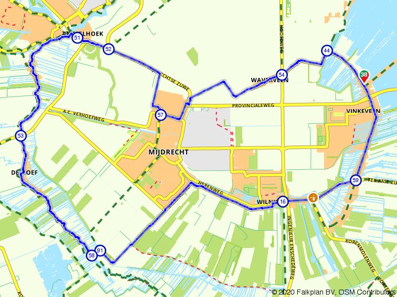 Fietsroute Vinkeveen