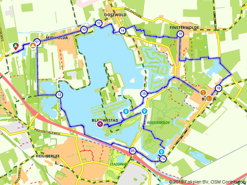 Het blauwe hart van Groningen