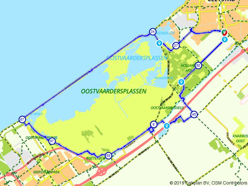 Rondje Oostvaardersplassen