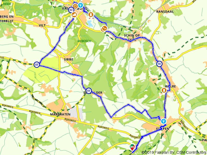van Gulpen naar Valkenburg