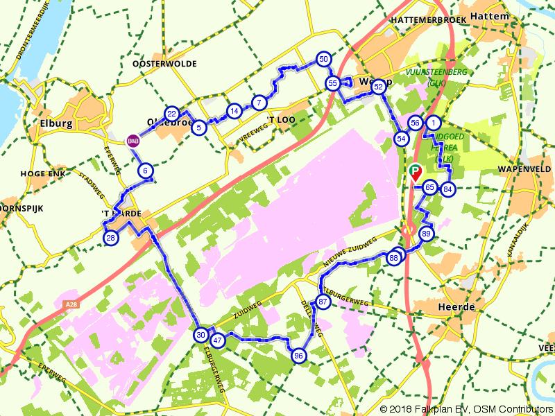 De Oldebroekse Heide op de Veluwe