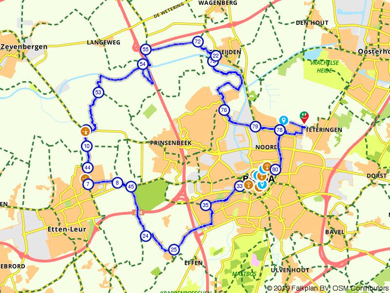 Kapellen en molens in Breda en omgeving