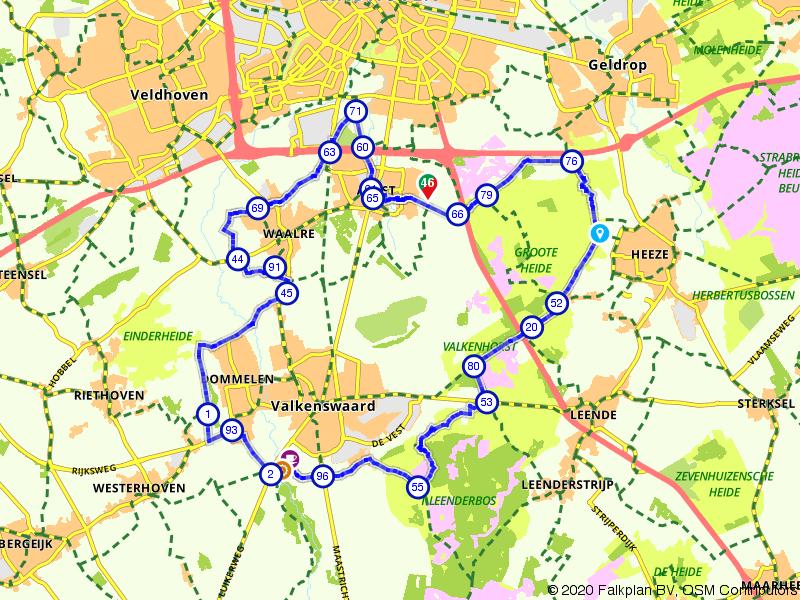 Groote Heide en Valkenhorst