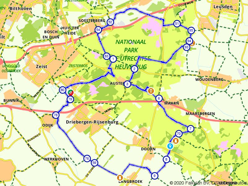 Verken Boswachterij Austerlitz en de Leusderheide