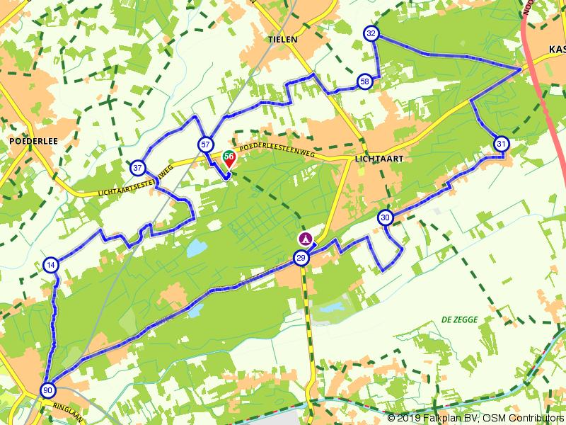 Grote Heide en Koningsbos nabij Achterlee