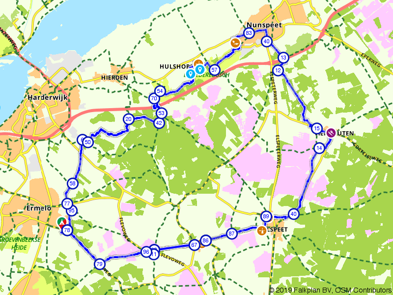 Een dagje fietsen over de Veluwe