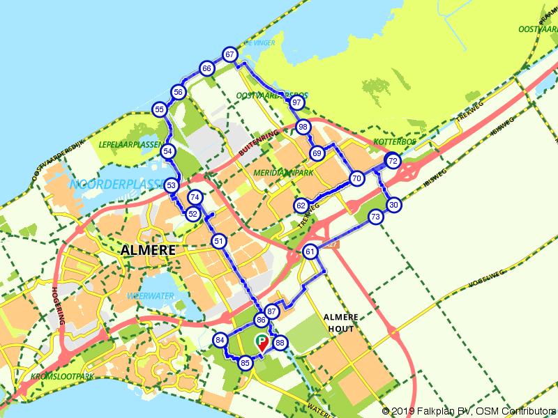 Natuurgebied Almere-Buiten