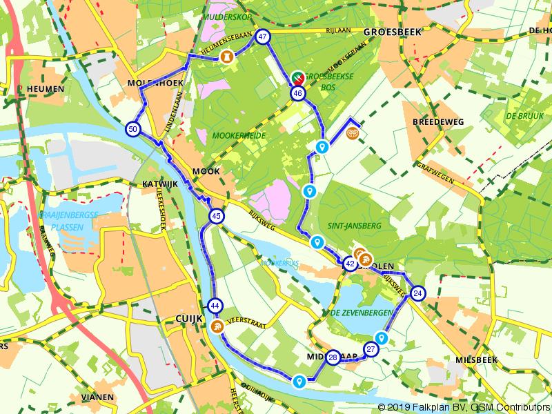 Het noordelijkste puntje van Limburg
