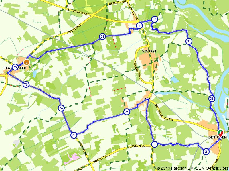 De Overmarsch Zutphen en Klarenbeek