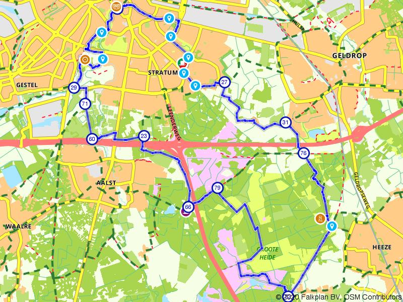 Eindhovense groene plekjes