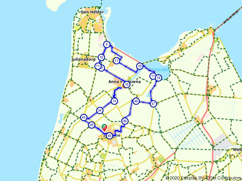 Fietsend door de Kop van Holland