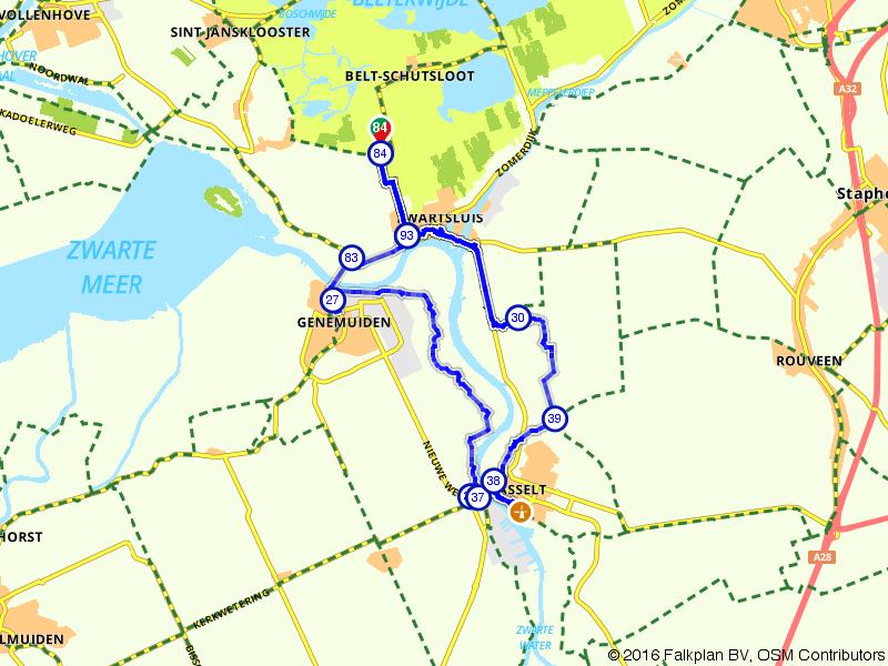 Belt-Schutsloot, Genemuiden en Hasselt