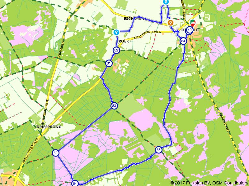 Bossen en heidevelden rondom Otterlo