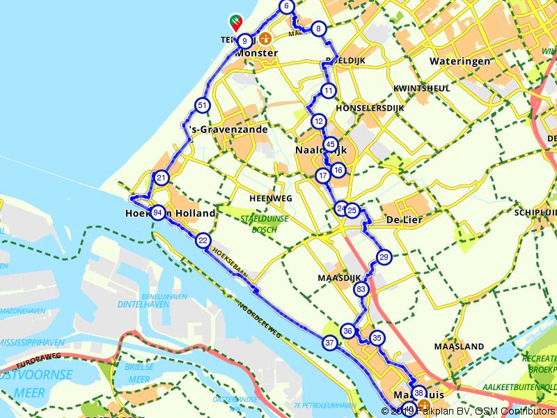 Monster, Hoek van Holland en Maassluis