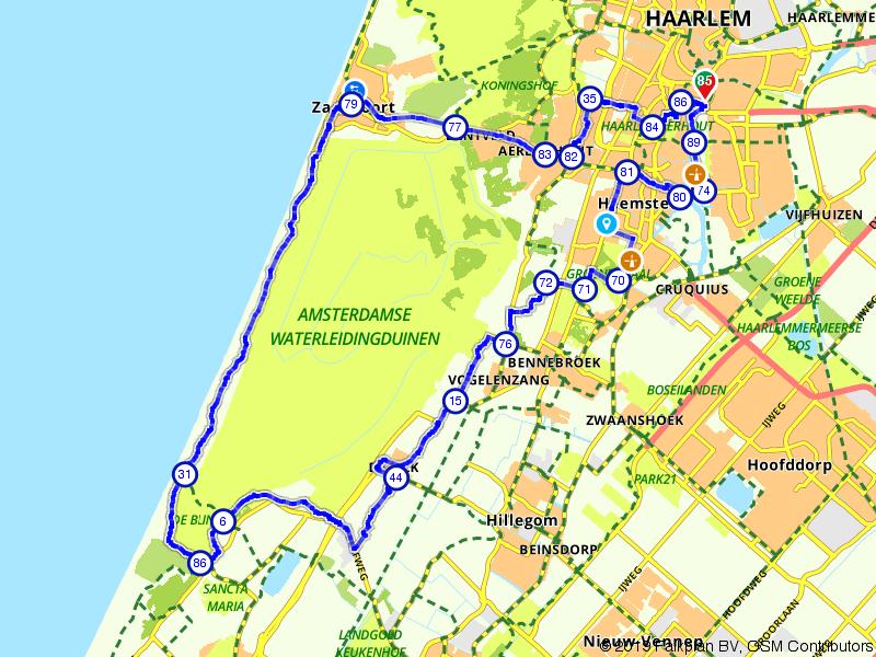 Haarlem, Zandvoort en De Zilk