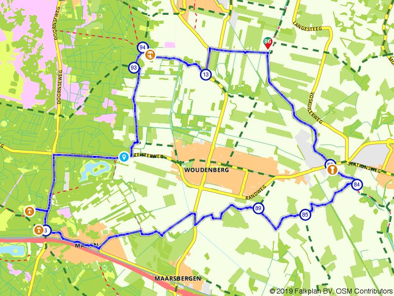 Fietsroute Gelderse Vallei & Utrechtse Heuvelrug