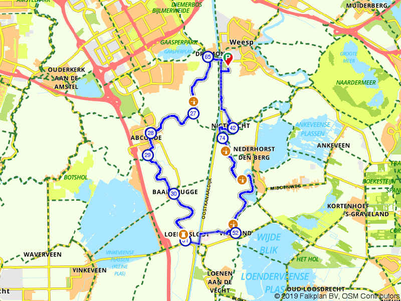 Weesp, Vreeland en Baambrugge