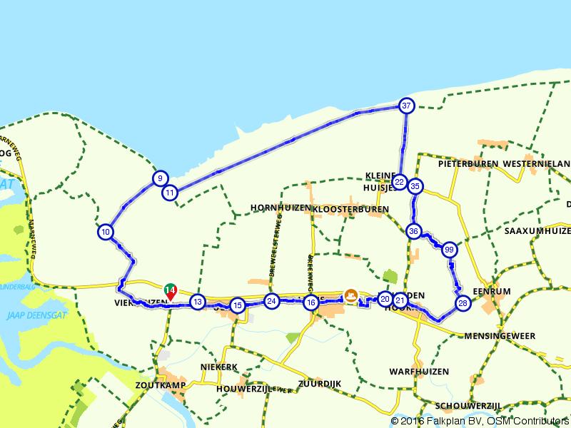 Vierhuizen, Wehe-den Hoorn en Broek