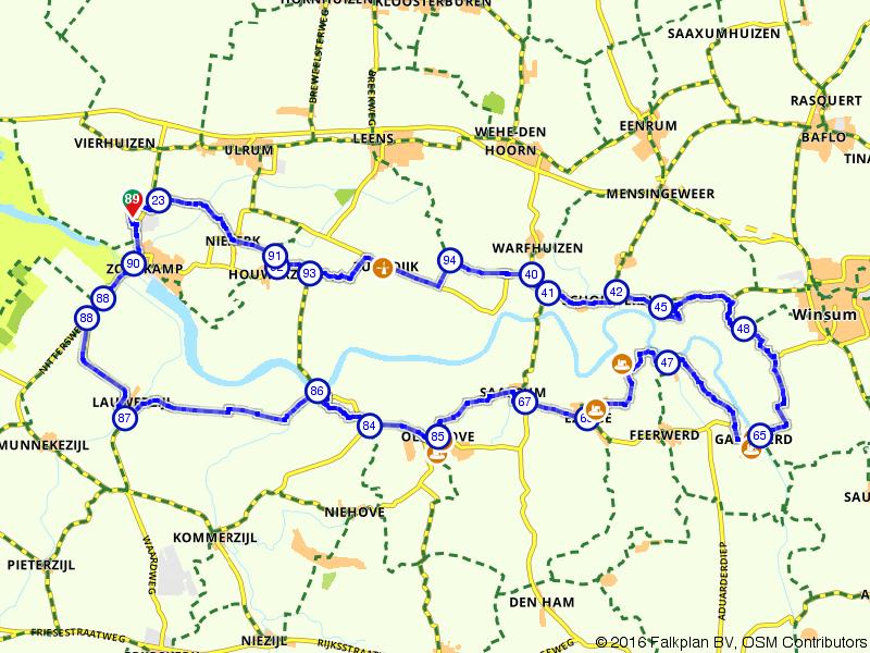 Vierhuizen, Oldehove en Winsum