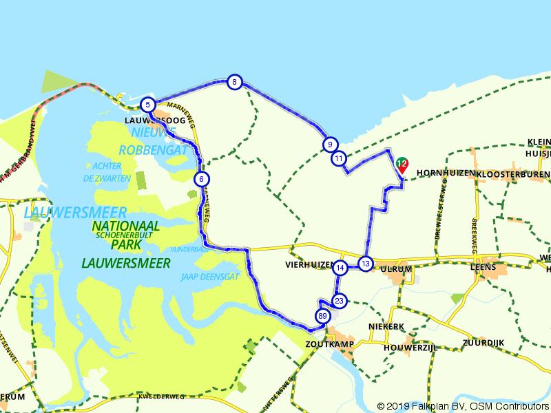 Uitwaaien in De Marne en Lauwersmeer