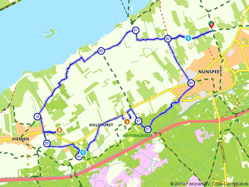 Laveren tussen Veluwe en Veluwerandmeren