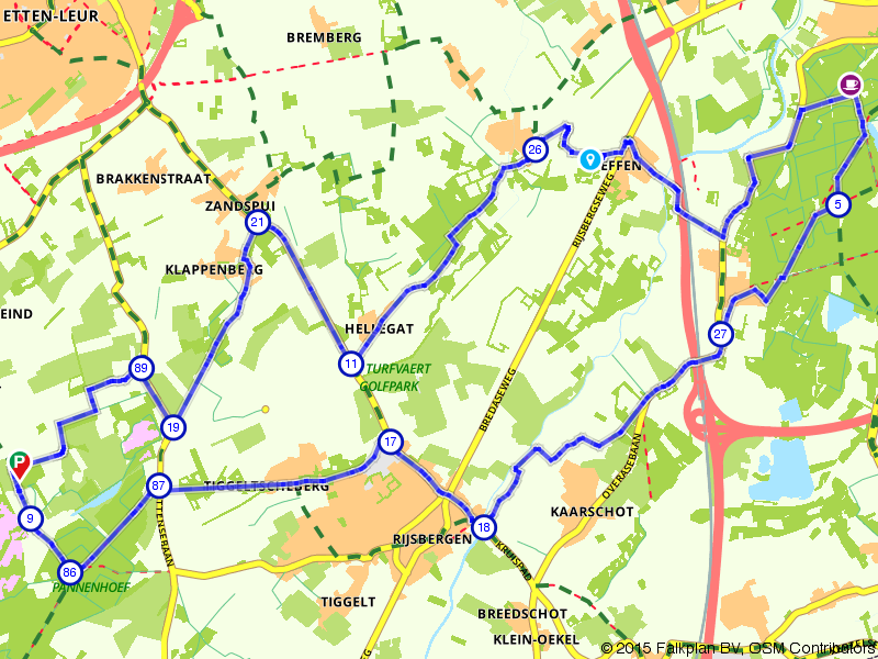 Pannenhoef, Rijsbergen en Breda