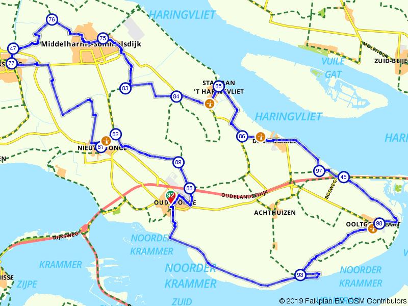 Oude-Tonge, Ooltgensplaat en Stad aan 't Haringvliet