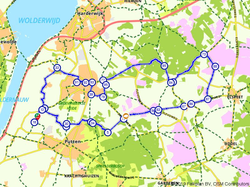 Ermelo, Putterbos en Leuvenumse Bos