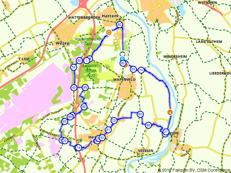 Fietsen door de Veluwe en IJsselvallei