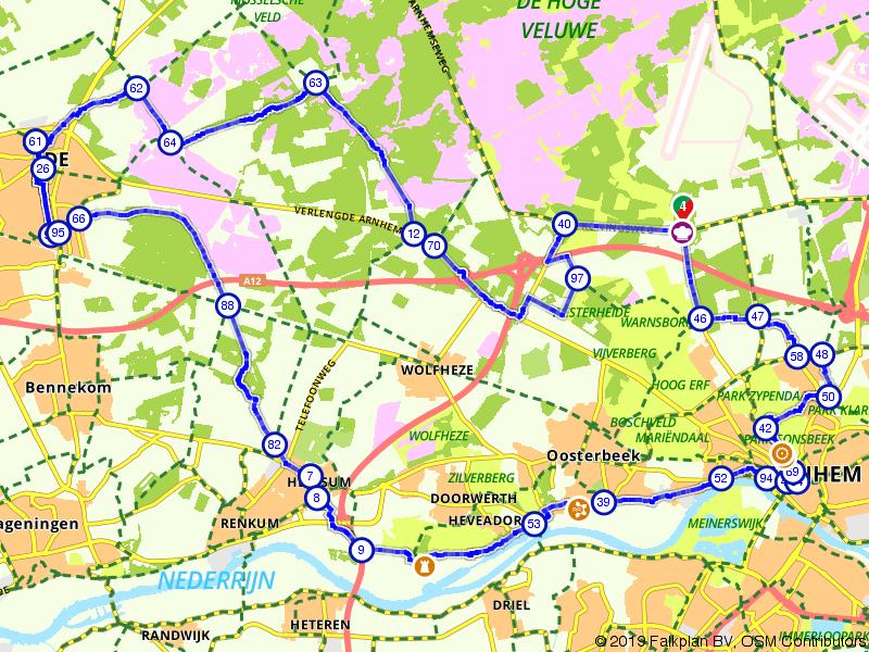 Arnhem, Ede en Renkum