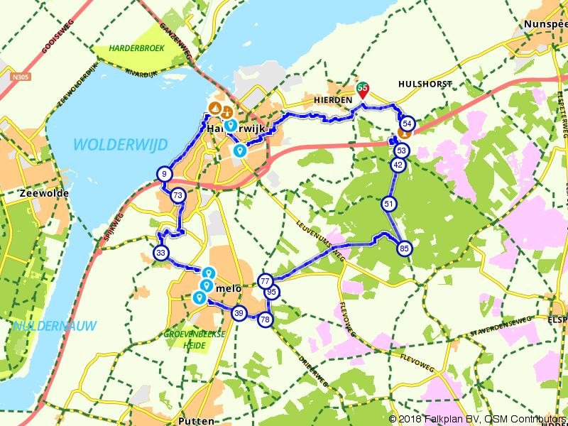 Hierden-Harderwijk-Ermelo