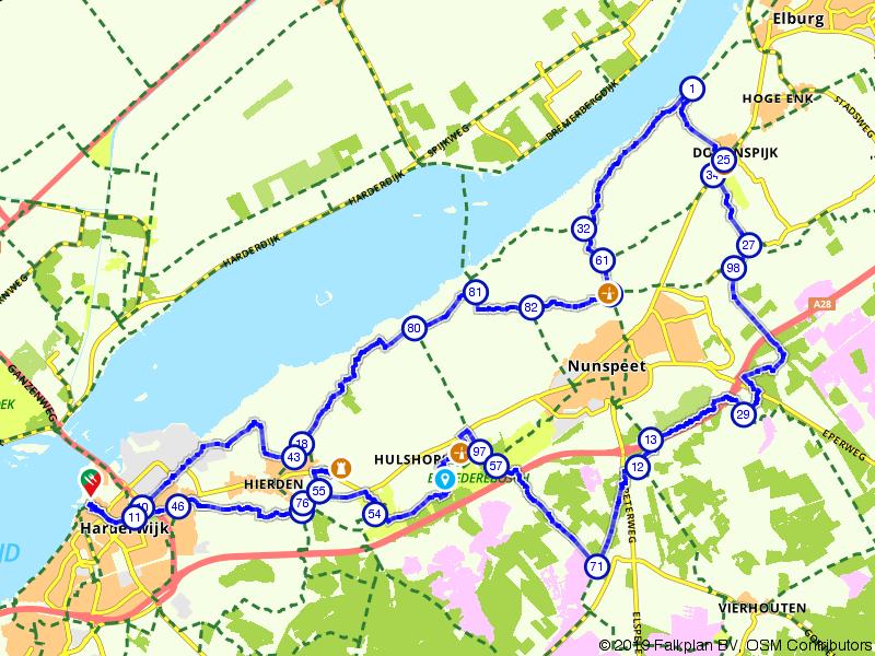 Hierden-Nunspeet-Harderwijk