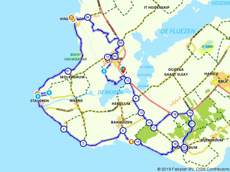 Uitwaaien in Nationaal Landschap Zuidwest-Fryslân