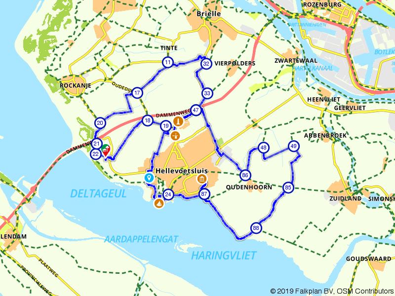 Rondje Hellevoetsluis