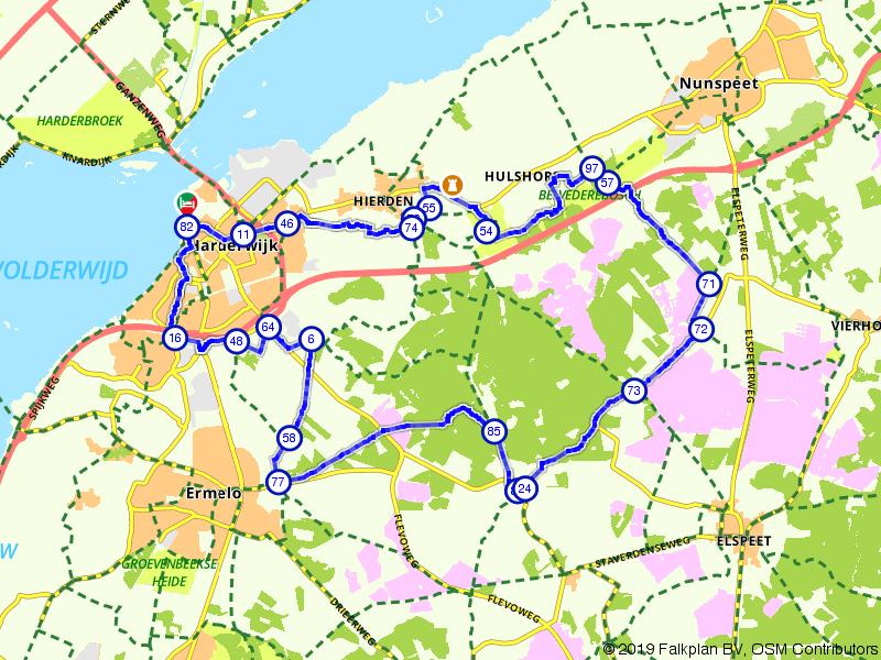 Harderwijk, Ermelo en Hulshorst
