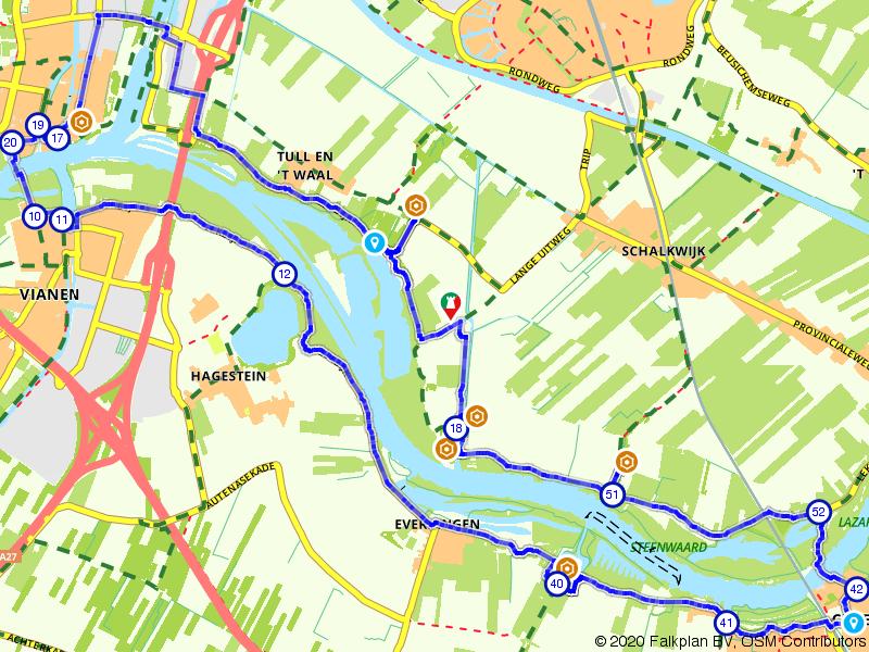 Culemborg, Nieuwegein en Everdingen