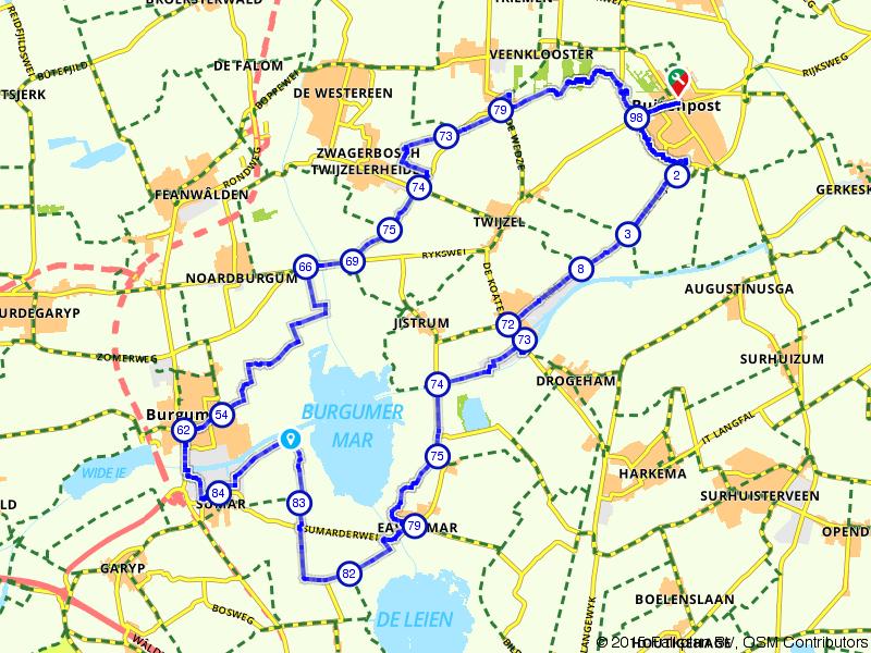 Buitenpost, Burgum en Kootstertille