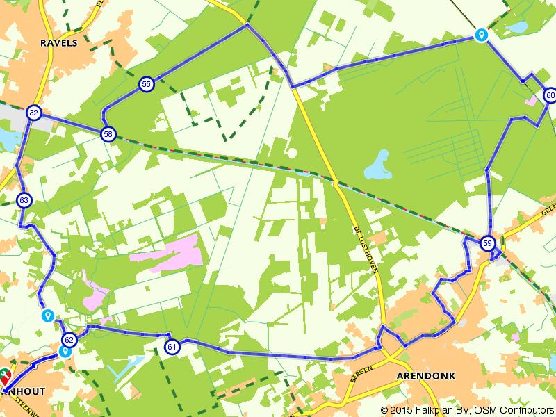 Oud Turnhout, Arendonk en Ravels
