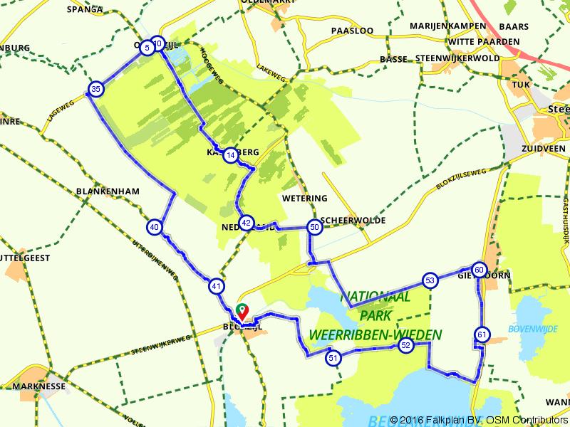 Blokzijl - Giethoorn - Weerribben-Wieden