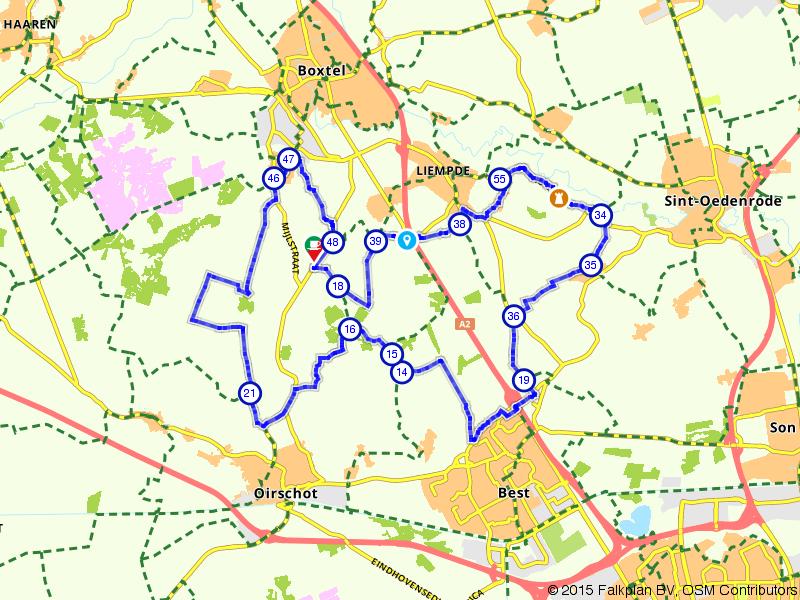 Rondje Groene Woud bij Boxtel