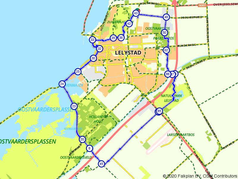 Lelymare rondje Lelystad