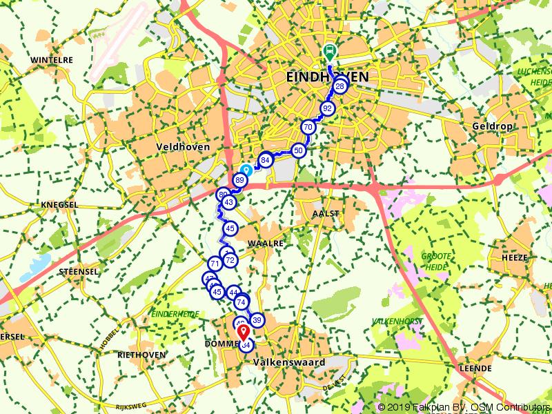Dommelpad 4: Eindhoven - Dommelen