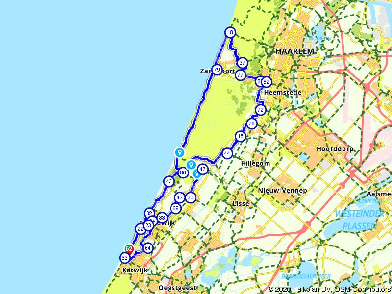 Een dagje door de Hollandse duinen