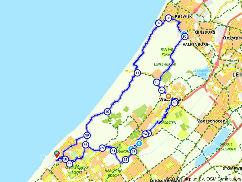 Katwijk, Scheveningen en Wassenaar