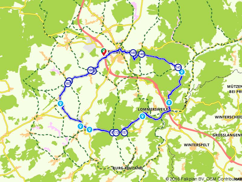 Sankt Vith, Braunlauf en Lommersweiler
