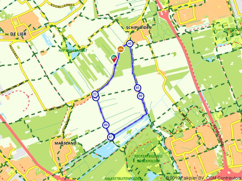 Wandelen door de polders van Schipluiden