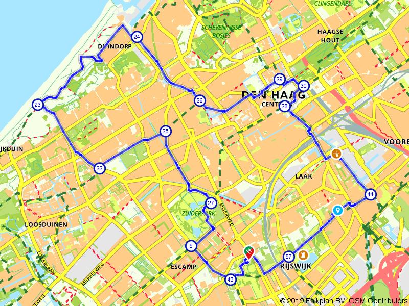 Den Haag: Segbroek, Laak en Centrum