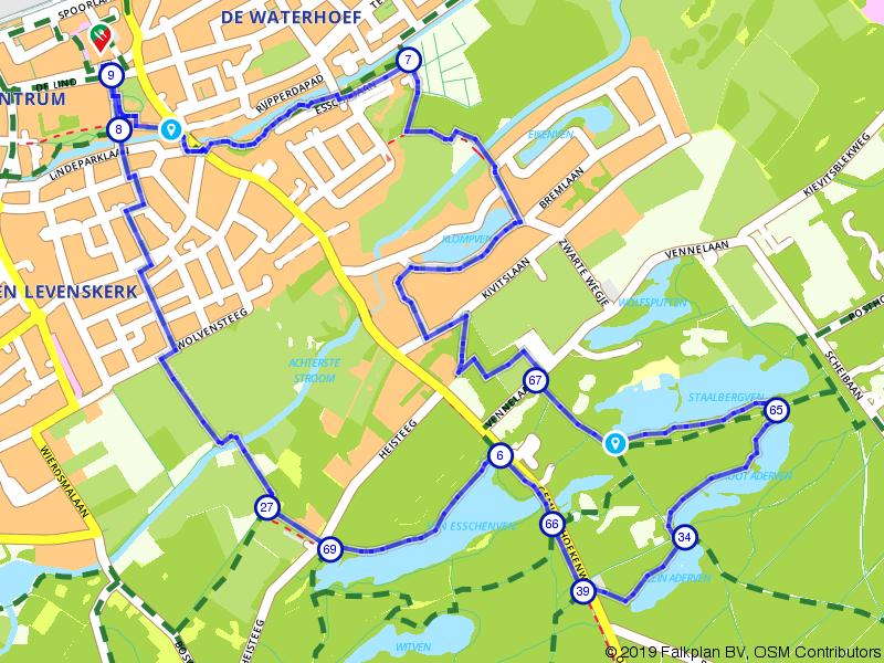 Korte wandelroute Oisterwijkse Bossen en Vennen